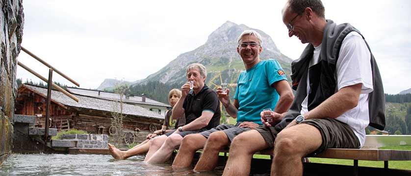 Hotel Austria, Lech, Austria - Guests enjoying the outdoors.jpg